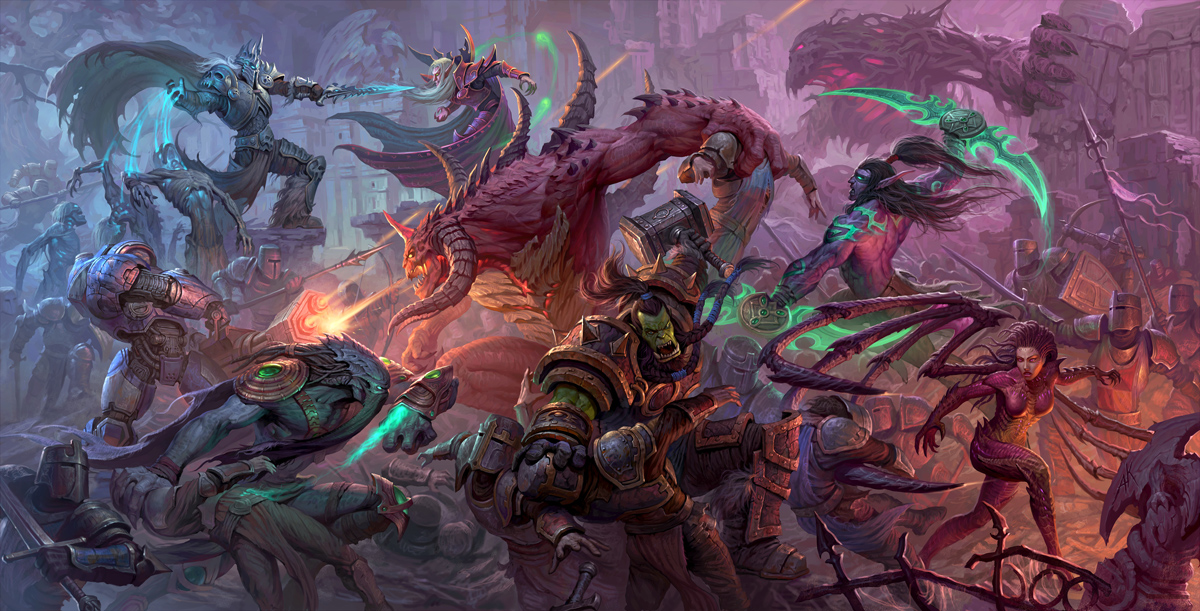 Heroes Of The Storm Fanart Contest Semi Finalists Pieces Revealed