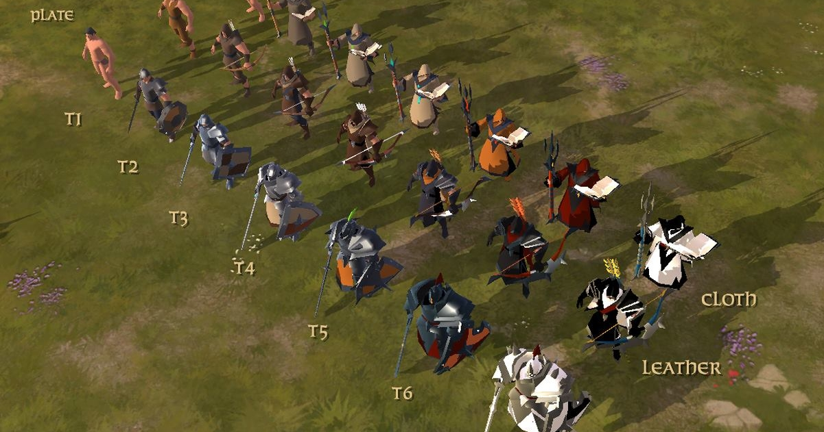 Albion Online Character Builds