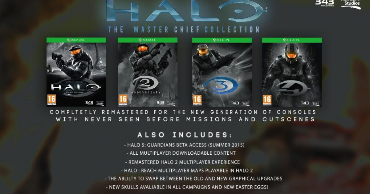 Halo: The Master Chief Collection UK release date moved up  | GameGrin