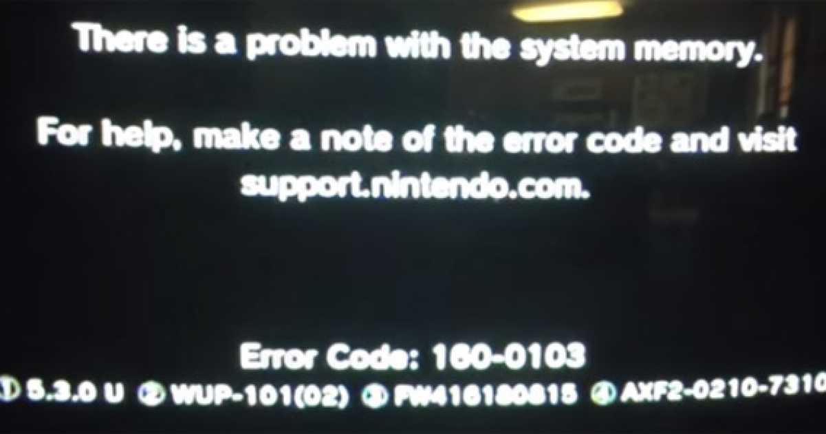 Smash bros wii u isn t the cause of error codes gamegrin