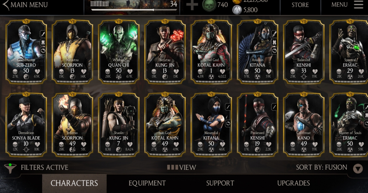 Mortal Kombat X for Mobile Celebrates First Anniversary with