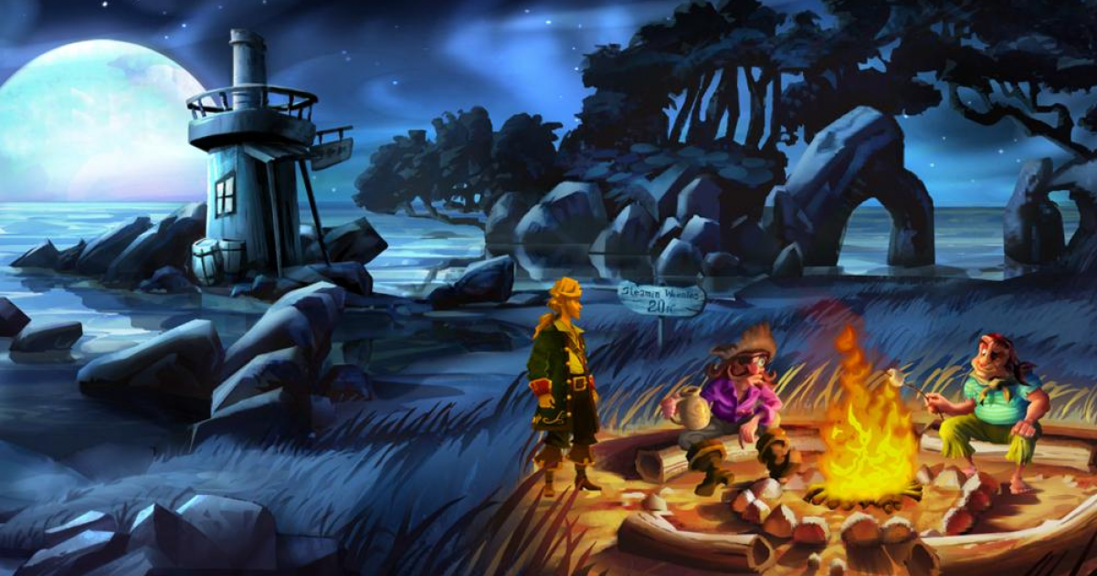 The Ten Best Point 'n' Click Adventure Games    According To
