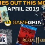 Games Out This Month April 2019
