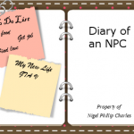 Diary of an NPC - Entry One