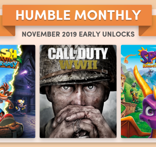 Humble Monthly Bundle Giveaway