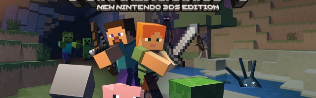 Minecraft Landing on New Nintendo 3DS
