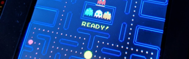 Official Quarter Size PAC-MAN Arcade Cabinet Preview