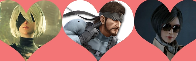 Five Videogame Characters to Warm Your Valentine's Day