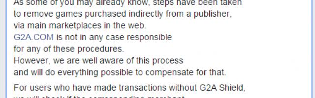 G2A Respond to Ubisoft Revoking Keys | GameGrin