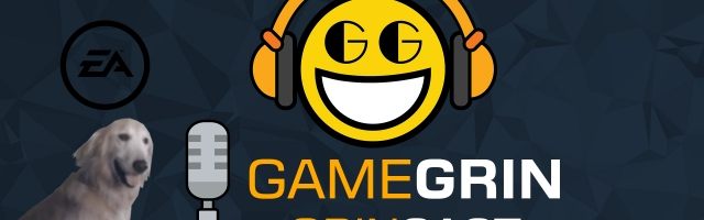 The GameGrin GrinCast Episode 184 - The Lowest Polygon Dog Ever