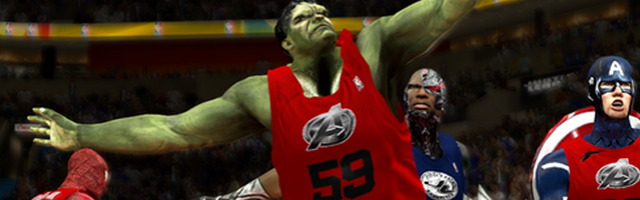 NBA 2K14 Mod Replaces Roster with Superheroes | GameGrin