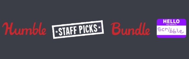 Humble Staff Picks Bundle Returns With Scribble