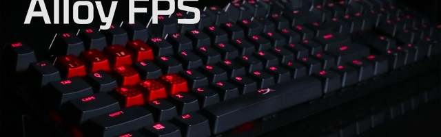 HyperX Alloy FPS Keyboard Review