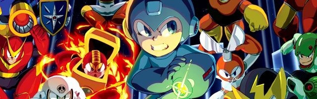 Mega Man Legacy Collection 1 and 2 Coming to Switch