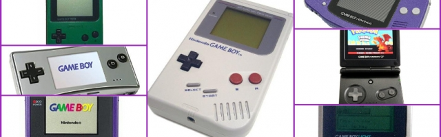 The Chronology of Game Boy Models