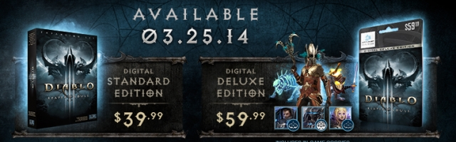 Diablo III: Reaper of Souls Release Date Revealed