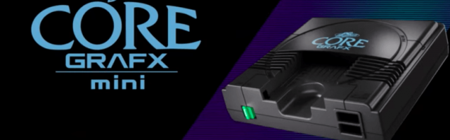 Konami Reveals PC Engine Core Grafx Mini Console | GameGrin