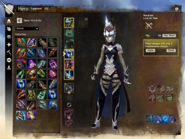 Guild Wars 2 Announces Wardrobe System   GameGrin