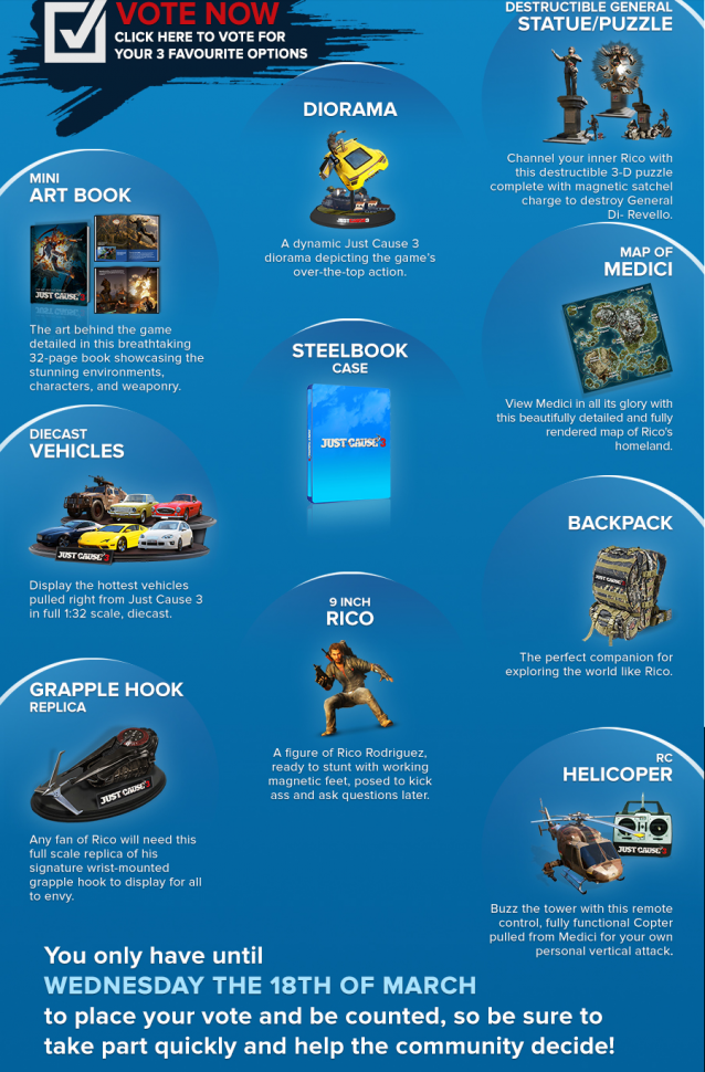 Just cause 3 (collector's edition) price in india buy just cause.