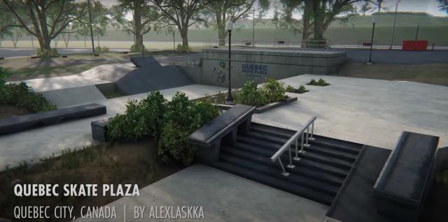 Skater XL Mod Map Screenshot