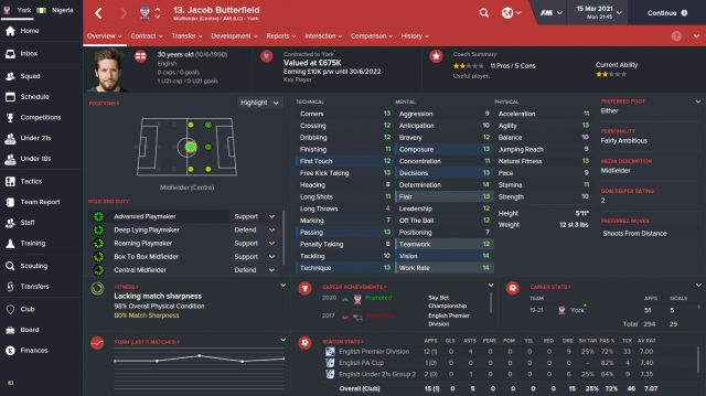 Run football manager tips and trick