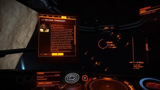 Elite Dangerous: Commander Deluxe Edition Review   GameGrin