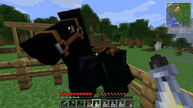 How To Tame A Horse In Minecraft Gamegrin