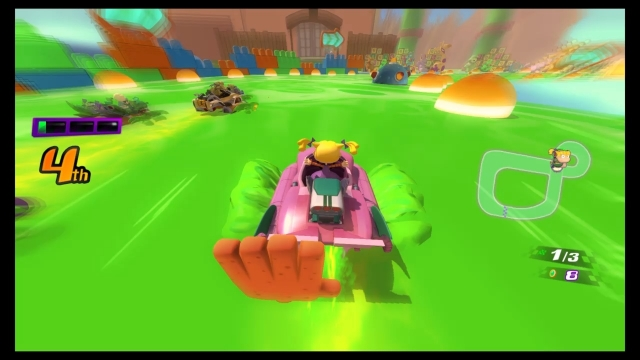 Nickelodeon Kart Racers Review   GameGrin