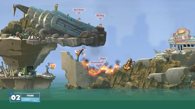 скачать игру Worms Wmd - фото 11