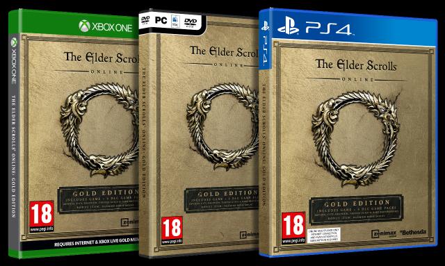The Elder Scrolls Online: Gold Edition Announced   GameGrin