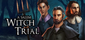 A Salem Witch Trial - Murder Mystery Box Art