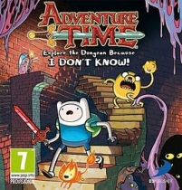 Adventure Time: Explore the Dungeon Because I Don't Know Box Art