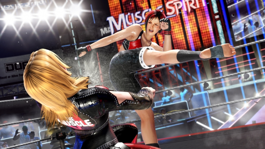 [Dead or Alive 6] Wrestling Screenshots  ( 3 / 12 )