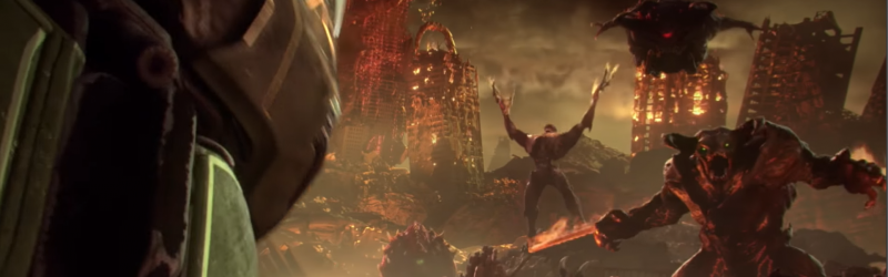 DOOM Eternal Gameplay Trailer | GameGrin