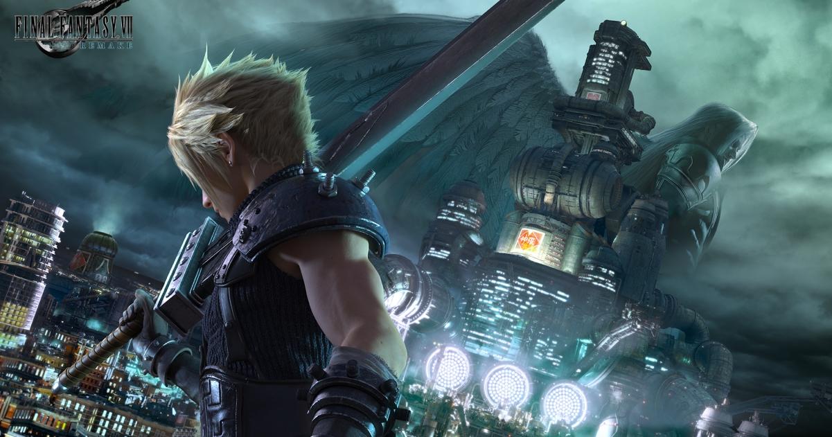 croppedimage1201631 final fantasy vii remake background - Final Fantasy VII RemakeReview | GameGrin