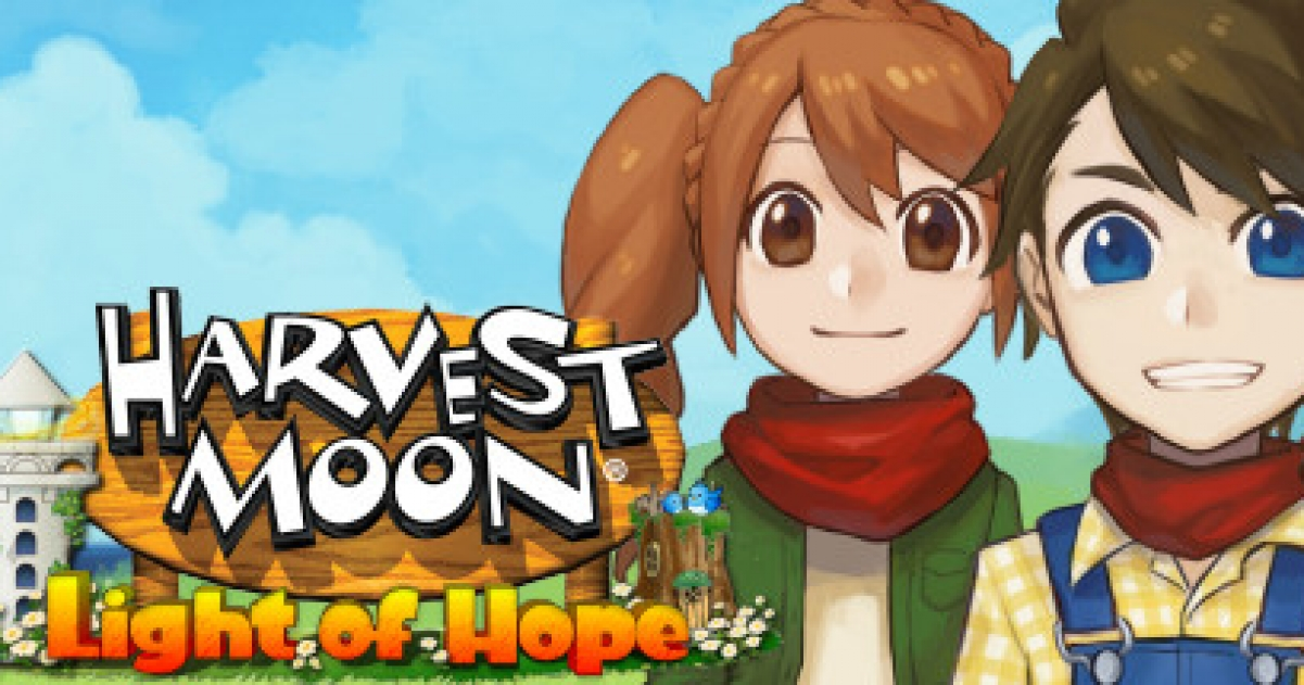Harvest Moon Light Of Hope Game Gamegrin