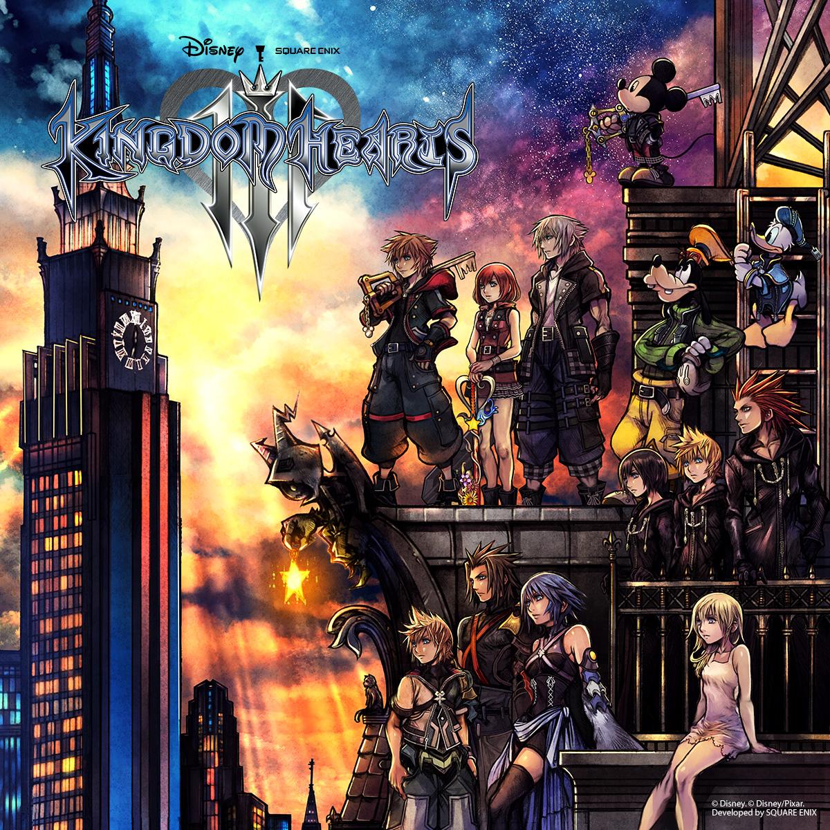 Kingdom Hearts Christmas.12 Games Of Christmas Kingdom Hearts Iii Gamegrin