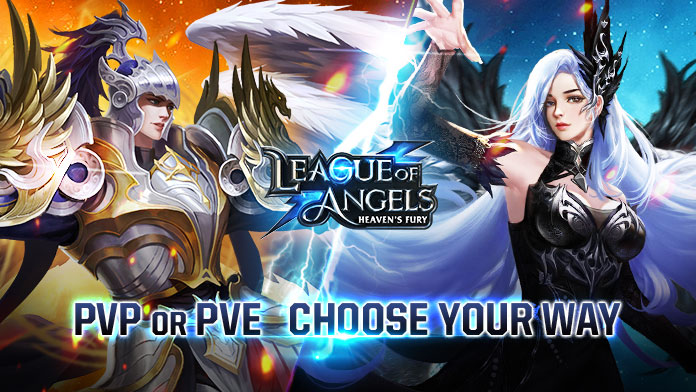 League Of Angels Heaven S Fury Game Gamegrin