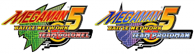 Mega Man Battle Network 5 Box Art