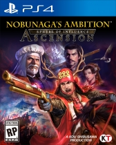 Nobunaga's Ambition: Sphere of Influence - Ascension Box Art
