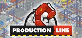 Production Line : Car factory simulation Box Art