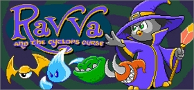 Ravva and the Cyclops Curse Box Art