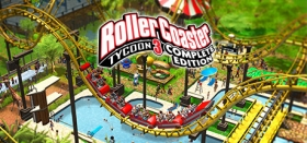 RollerCoaster Tycoon 3: Complete Edition Box Art