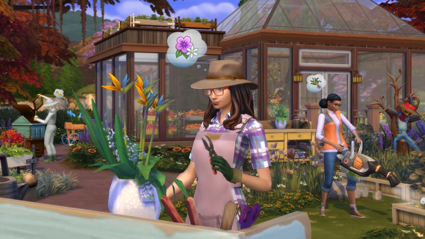 Image result for Sims 4 seasons  screenshots june 2018