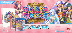 Sisters Royale: Five Sisters Under Fire Box Art