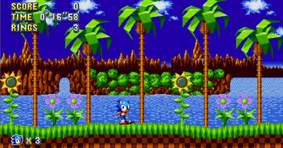 More Sonic Mania Gameplay Revealed Gamegrin