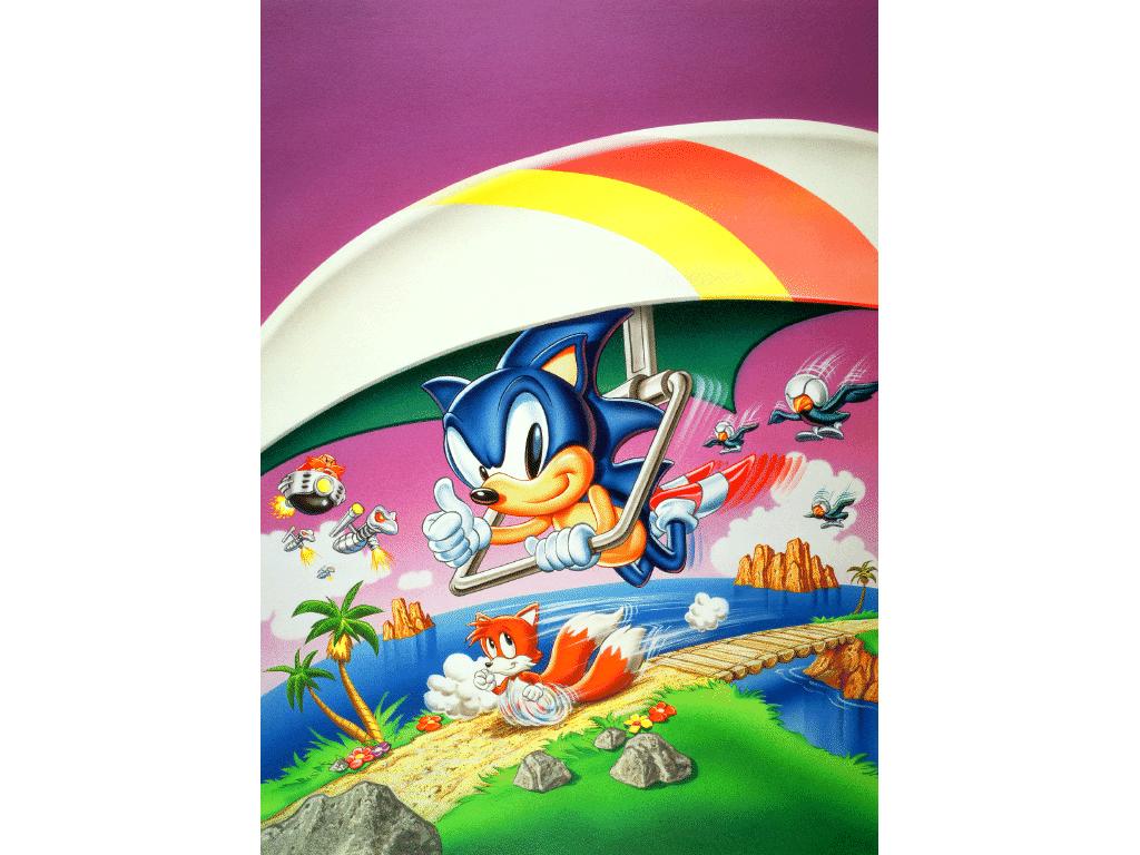 Sonic The Hedgehog 2 8 Bit Game Gamegrin