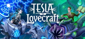 Tesla vs Lovecraft Box Art