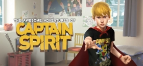 The Awesome Adventures of Captain Spirit Box Art