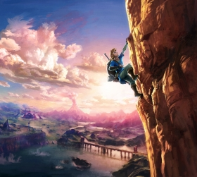 The Legend of Zelda Breath of the Wild Box Art